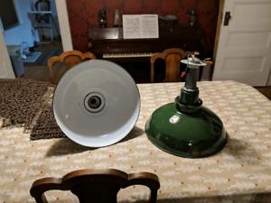 AEI Vintage porcelain enamel industrial lights
