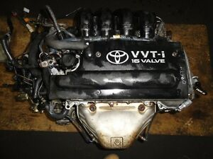 JDM TOYOTA SPYDER, MR2 1ZZ VVTI ENGINE, ECU, WIRING, 00-05 W