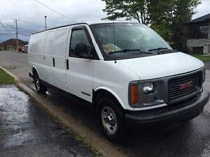 1997 Camion GMC SAVANA 3500  négociable