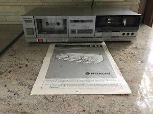 Cassette tape deck - Hitachi D-E2