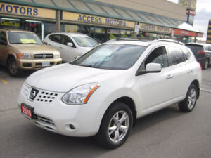 2010 Nissan Rogue SL, TOP OF THE LINE, Leather, Sunroof, Mint