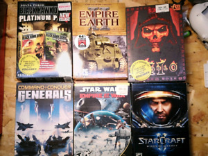 PC Games star wars diablo starcraft