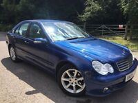 Mercedes c220 1 lady owner from new leather electric seats