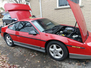 Tentatively Sold 86 Fiero GT 5 speed