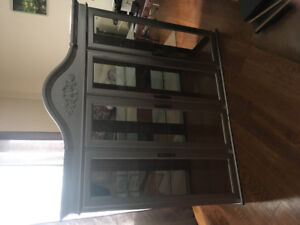 Grey hutch display unit(top only)