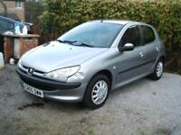 2005 Peugeot 206 1.4 L Hatchback 5d **CLEARANCE CAR**