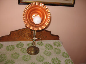 Antique Brass Lamp For Sale!