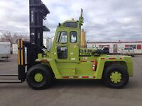 Clark 30,000 lb cap forklift