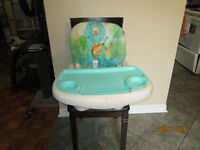 Baby High Chair - Converts to Booster