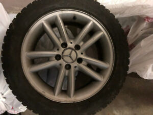205-55-R16 Winter tyres on Mag rims