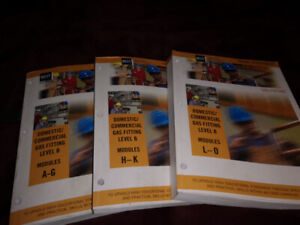 BCIT B level gas fitter books