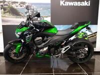 2016 KAWASAKI Z800 ZR800AFF In Green,low mileage,performance kit, Lowered, ...