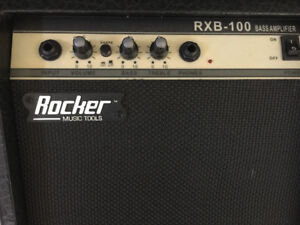 Rocker Bass Amplifier for Sale - $55 or any resonable offer