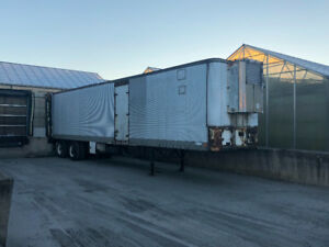 Reefer Trailer, Good for Storage