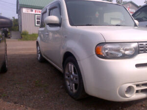 SCRAPPING A NISSAN CUBE 2010