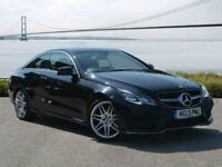2013 Mercedes-Benz E CLASS DIESEL COUPE E220 CDI AMG Sport 2dr 7G-Tronic Auto Co
