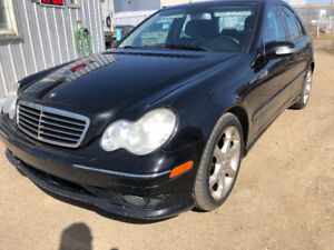 2007 MERCEDES C-230 AUTOMATIC 143164 KM FULLY LOADED LEATHER