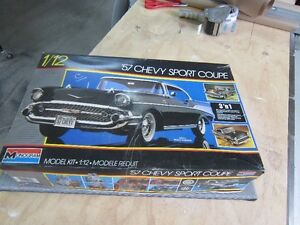 1957 CHEVY SPORT COUPE  1/12 TH SCALE