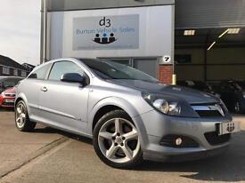 2008 Vauxhall Astra 1.9CDTi 16v 150ps Sport Hatch SRi TURBO DIESEL COUPE Silver