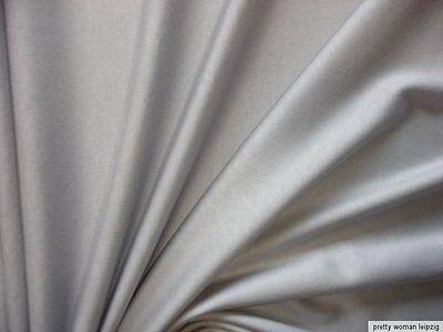 1 Lfm Jersey 2,63€/m²  hellgrau Interlock 170cm breit FK4