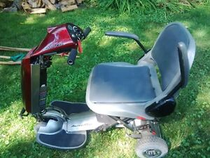 Chair Lift and Motorized Scooter