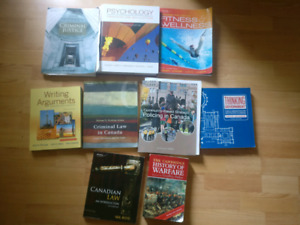 Justice studies 1st and 2nd year textbooks