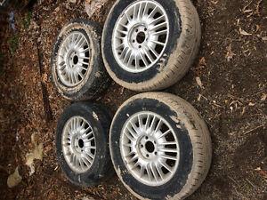 4 Pirelli tires & rims