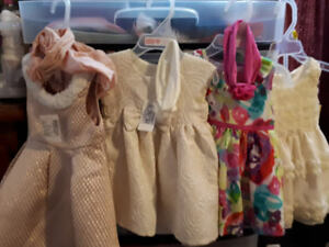 baby girl dresses size 3 to 6mos