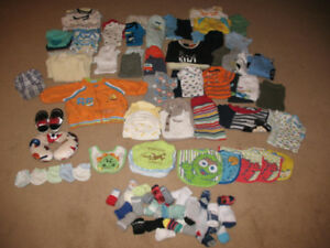 Baby Boys Clothing Lot/0-3 months to 24 months/All for $30!