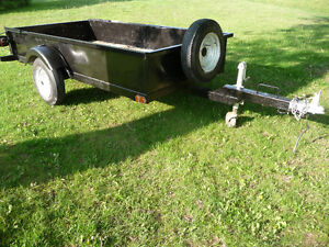 All METAL UTILITY TRAILER