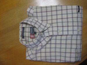 MENS Ralph Laren CHAPS Long Sleeve Shirt -LT