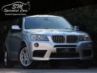 2012 62 BMW X3 3.0 XDRIVE35D M SPORT 5D AUTO 309 BHP DIESEL