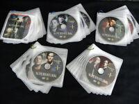 Supernatural DVDs Season 1 to 5