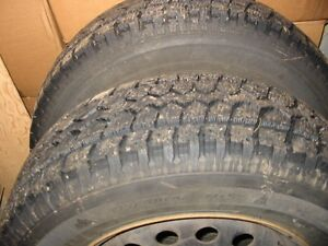 215/70/16 Snow Tires and Rims