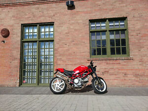 Ducati S2R aftermarket Full Exhaust