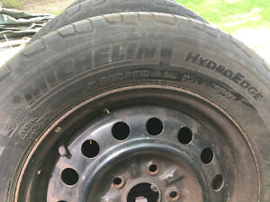 Michelin tires and rims