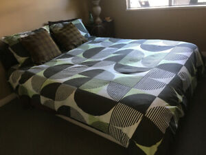 Pillow top Queen Mattress and Box Spring for Sale