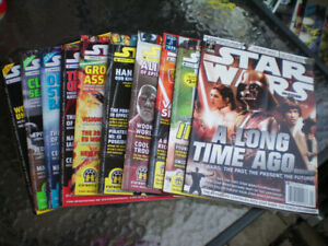 Star Wars Insider Magazines Game Trade Magazine