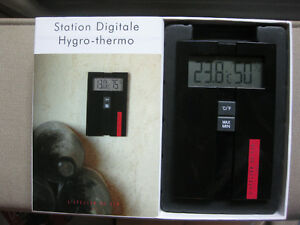 Wine cellar hygro-thermodigital station for humidity and temp.