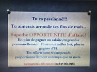 Superbe Opportunite d'affaire