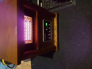 Infared heater wood cabinet style