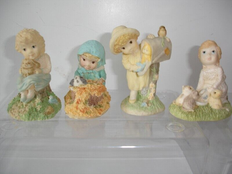 "Four Hallmark Figurines from ""Mary & Friends "" series"