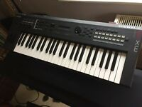 Yamaha MX49 Synthesiser with gig bag, manuals and power supply