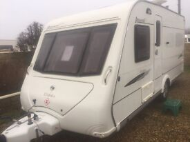 Elddis avante club 2008 fixed bed 16 feet touring caravan