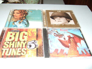 Variety of music CDs for sale - from 25 cents!