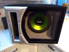 12 inch sub in bandpass box