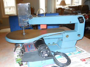 Scroll Saw 16 in veriable speed by Toolex in excellent condition