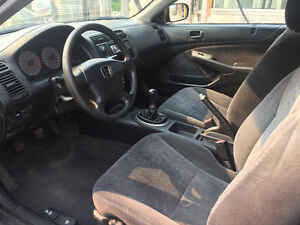 Reliable 2001 Honda Civic Si Coupe (2 door) Sports/luxury model