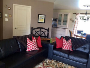 3 seat sofa w/ hide-a-bed & love seat