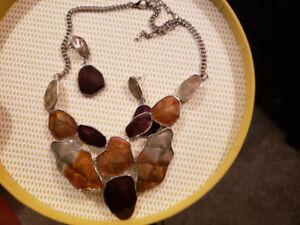 Amazing necklaces, earrings